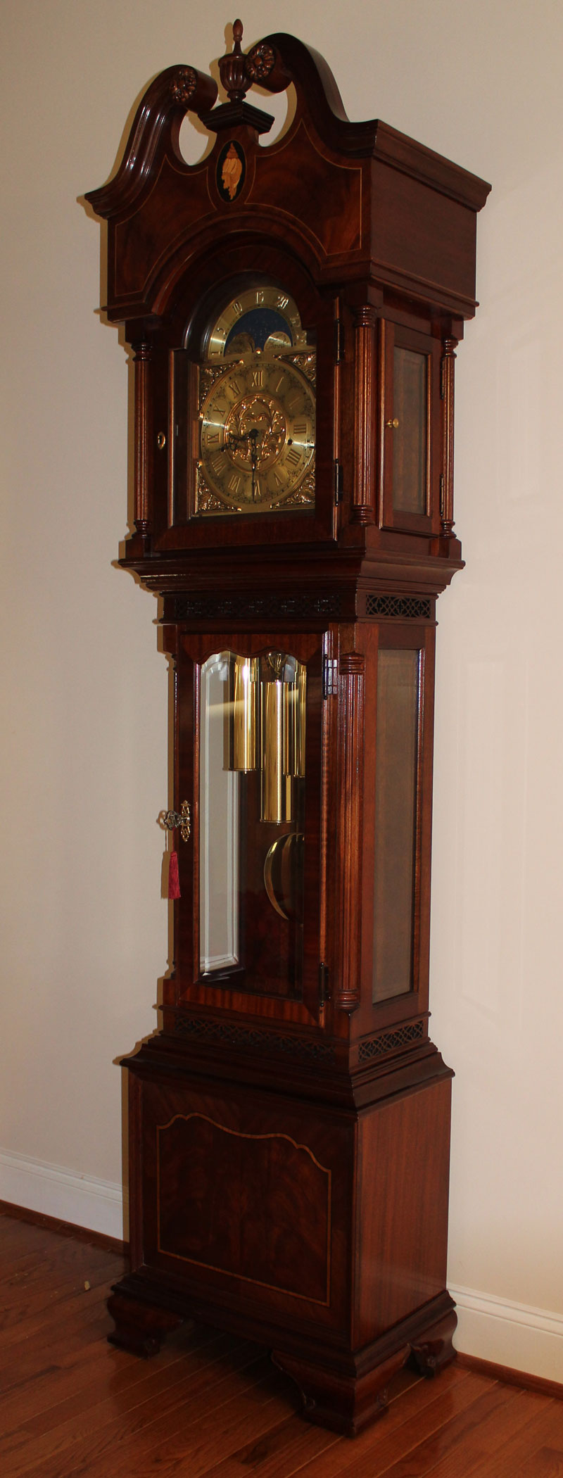 The New Grandfather Clock For Our Home Clocks For Me